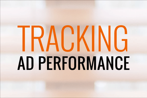 Using UTM Codes to track performance