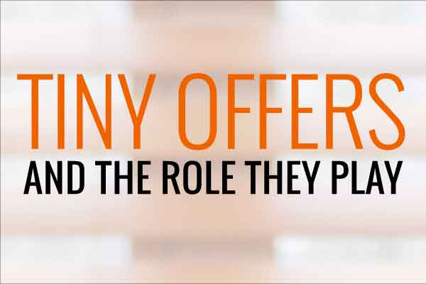 The Role of Tiny Offers in Sales Funnels